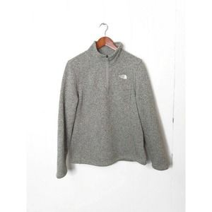 The North Face Fleece Lined 1/4 Zip Pullover Top